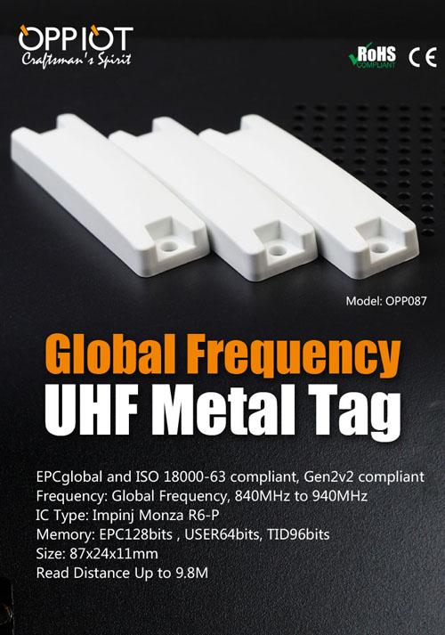 UHF RFID tags on metal