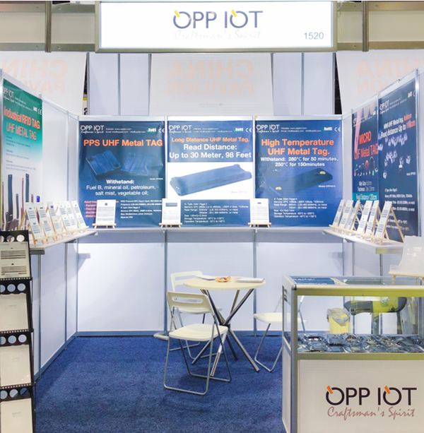 2018 RFID JOURNAL LIVE exhibiting