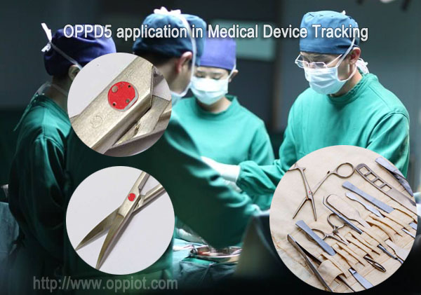 UHF Tags for Medical Device Tracking