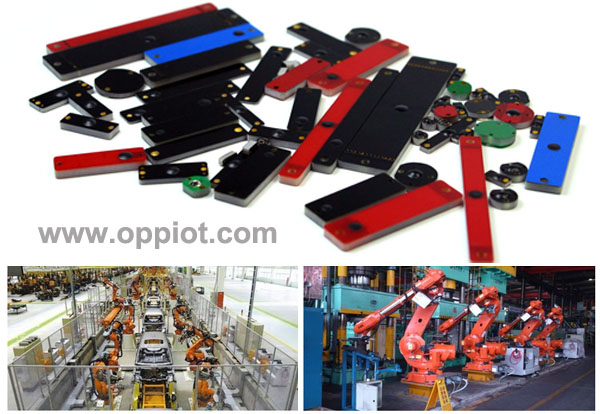 UHF tags applicable in assembly line