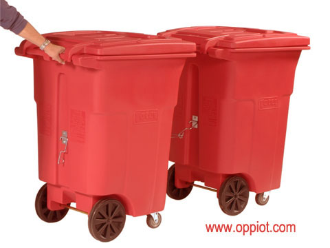 UHF RFID tag application in Waste Management