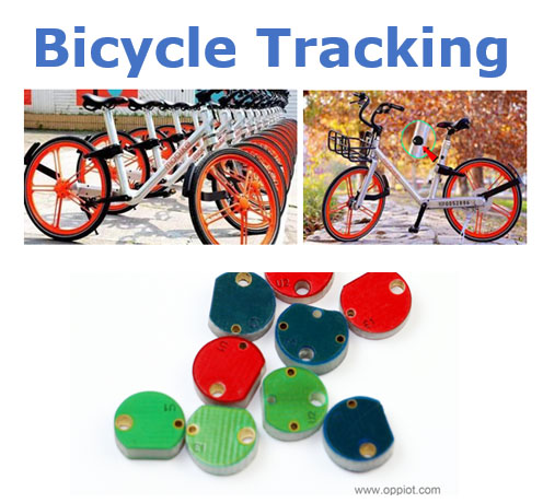 sharing bicycles tracking tags