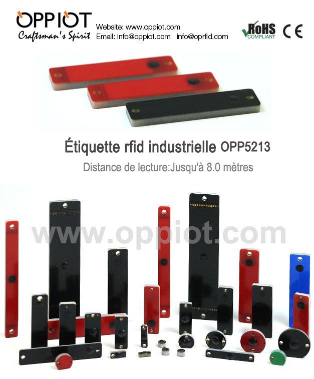 étiquette rfid industrielle