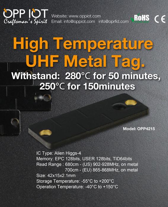 high temperature rfid tag