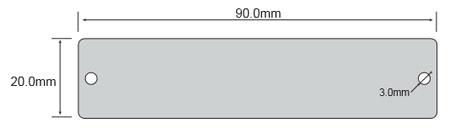 长读距标签opp9020尺寸