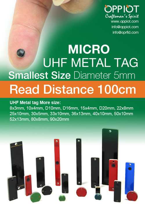 small size RFID tag