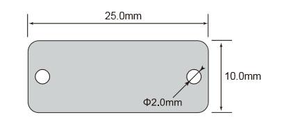 超高频RFID抗金属标签OPP2510尺寸