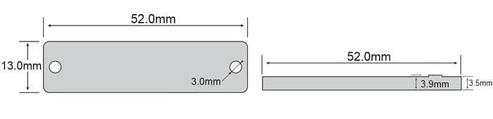 超高频标签OPP5213尺寸