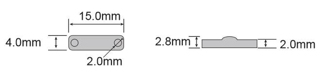 OPP1504标签尺寸